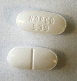 norco addiction brand pill