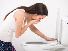 Nausea and vomiting are common symptoms of inhalant withdrawal.