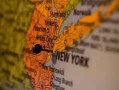 Pin on New York City in Map