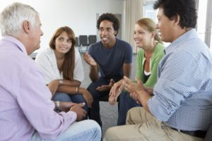 A Group Learning How to Hold an Intervention