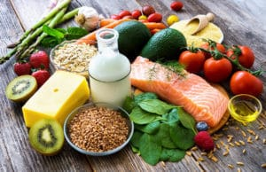 A Selection Of Healthy Foods That Can Be Chosen To Improve Recovery