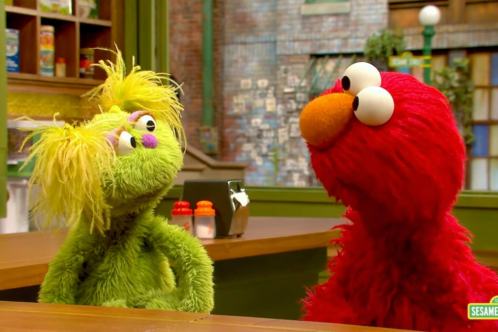 Thumnail photo of Karli the 'Sesame Street' Muppet Helps Kids Understand Addiction